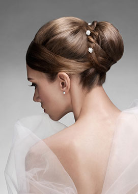 Sorella bridal hair