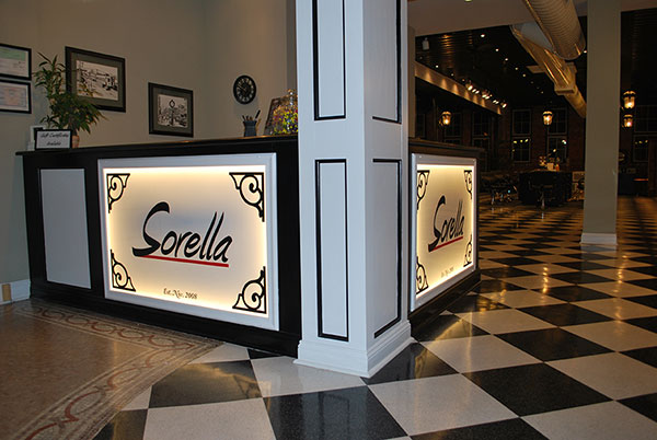Entrance of Sorella Hair Salon