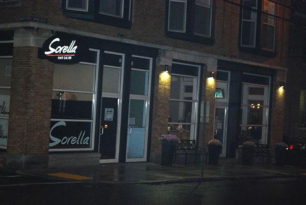 exterior of Sorella Hair Salon