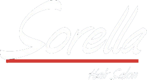 Sorella Hair Salon logo in white